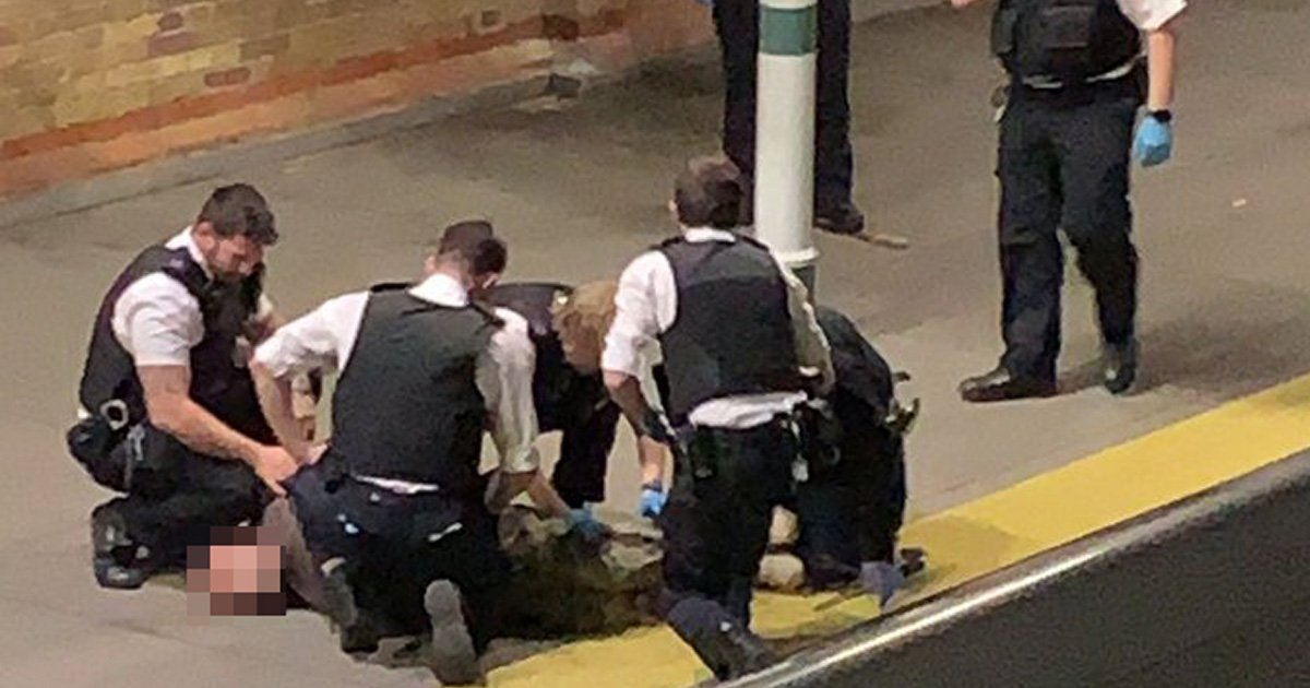 Machete-wielding man arrested for attempted murder at south London station