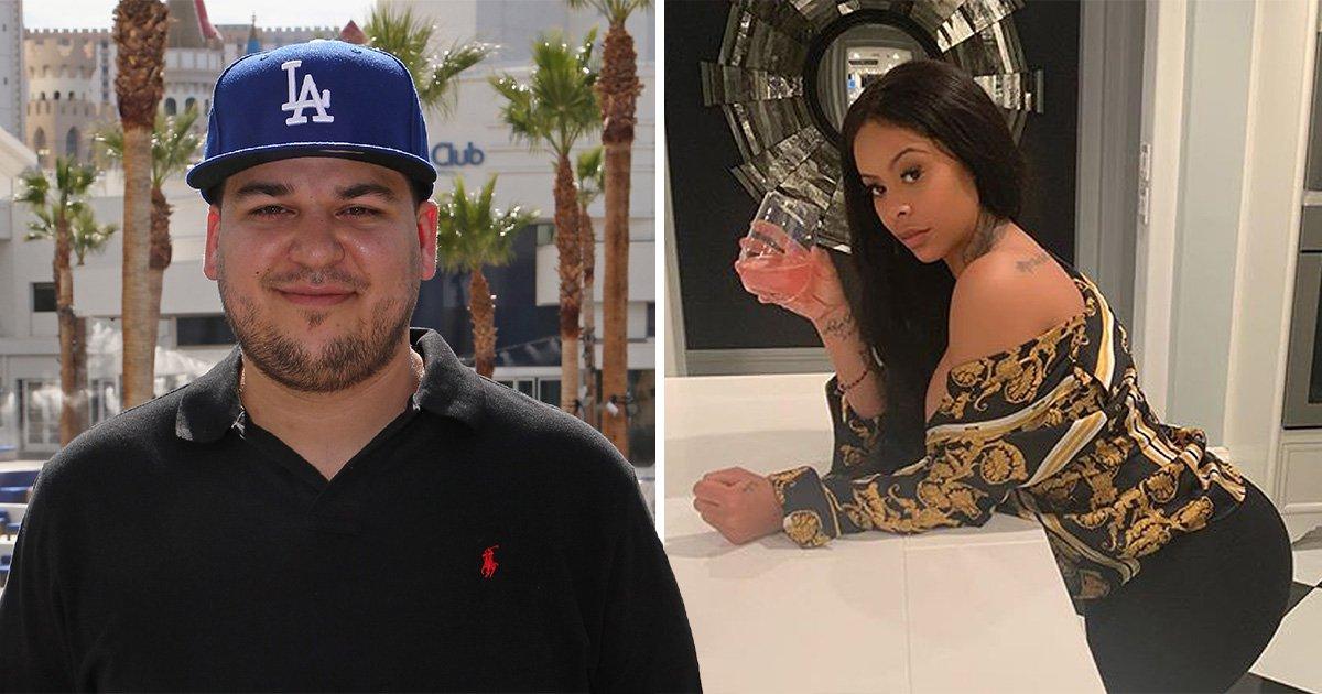 Rob Kardashian trolls Blac Chyna by enjoying cosy date night with her rival Alexis Skyy