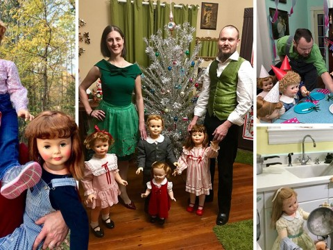 Couple set up Instagram to share life with their 30 plastic children