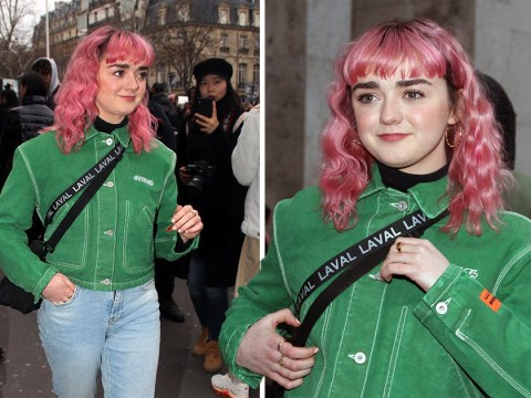 Maisie Williams and her fab hair bless Paris fashion show as Game Of Thrones final season start date is revealed