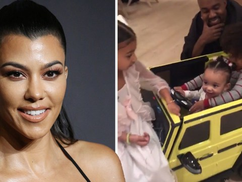 Kourtney Kardashian is aunt goals as she buys Chicago a mini neon G Wagon for her 1st birthday