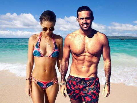 Spencer Matthews and Vogue Williams accidentally wind up on nudist beach on St Barts holiday