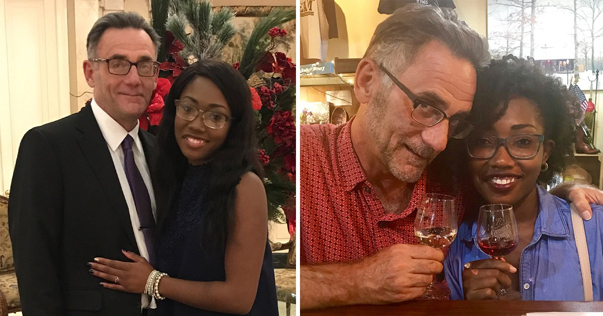 Couple with a 35 year age gap kept their relationship a secret out of fear of judgement