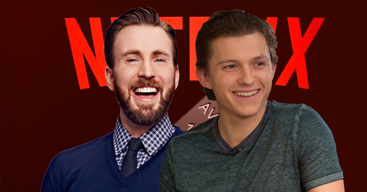Chris Evans and Tom Holland will bring their Marvel reunion to Netflix in The Devil All The Time