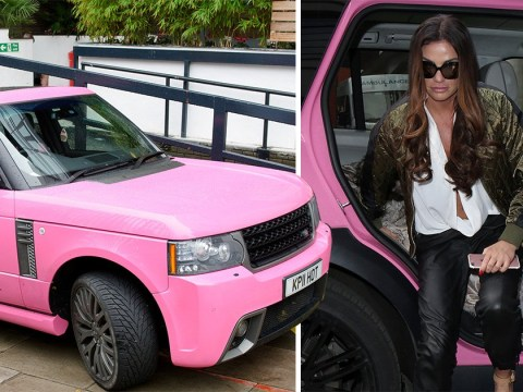 Katie Price given fourth driving ban in two years after failing to tell police who was driving her Range Rover
