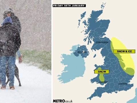 Arctic blast grips Britain with -10°C temperature recorded on coldest night of winter