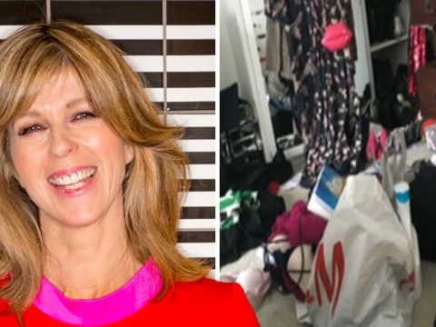 Kate Garraway might need Marie Kondo's help with 'filthy' bedroom – covered in clutter and rank mouldy grapes