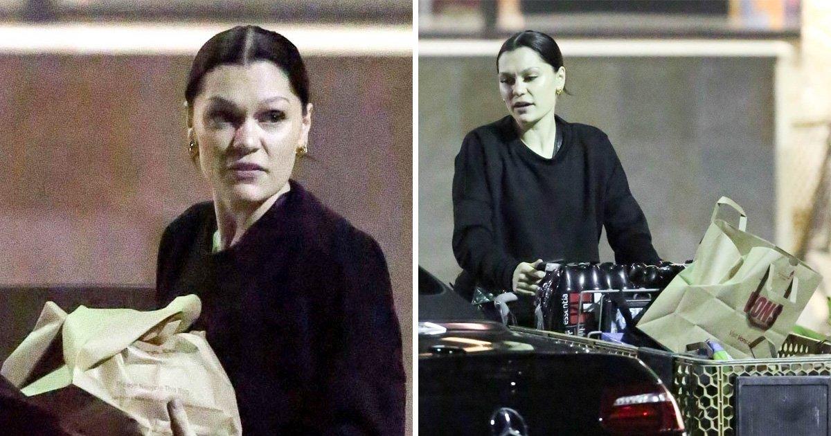 Jessie J looks downcast after taking social media hiatus following bodyguard's death