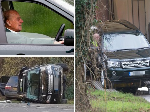 Prince Philip gets new Land Rover day after crash