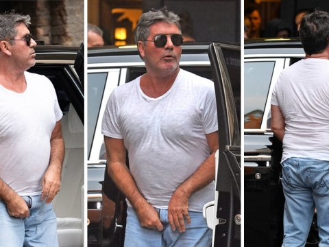 Simon Cowell awkwardly caught with fly undone as he arrives for Britain's Got Talent auditions