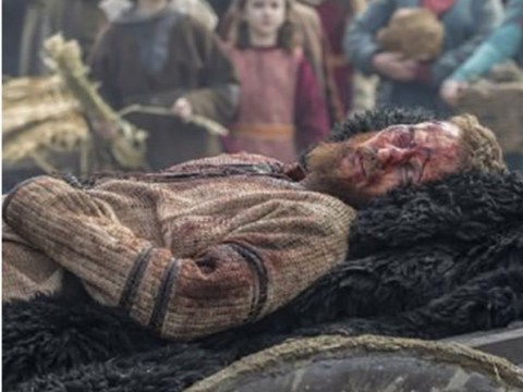 Vikings season 5B teaser show Lagertha and Ubbe close to death in another time jump