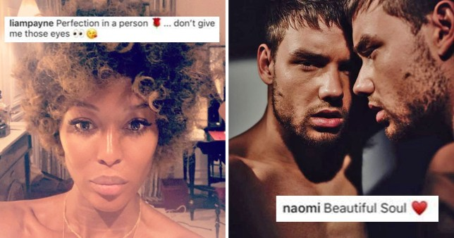 Um, what is going on with Naomi Campbell and Liam Payne
