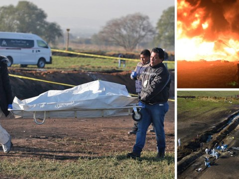 At least 66 killed after illegally tapped gas pipeline explodes in Mexico