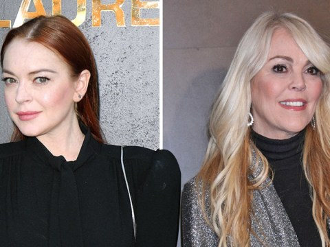 Lindsay Lohan helps mum Dina with Celebrity Big Brother USA game plan