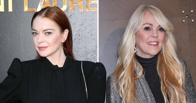 Lindsay Lohan helps mum Dina with Celebrity Big Brother USA game plan