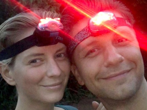 Rachel Riley and Strictly Come Dancing boyfriend Pasha Kovalev look adventure-ready as they celebrate his birthday