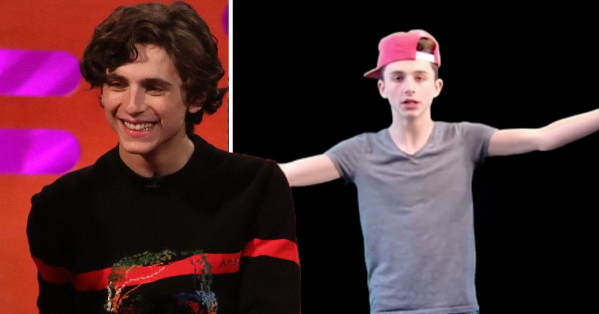 Timothée Chalamet once rapped about Maths and it's brilliant