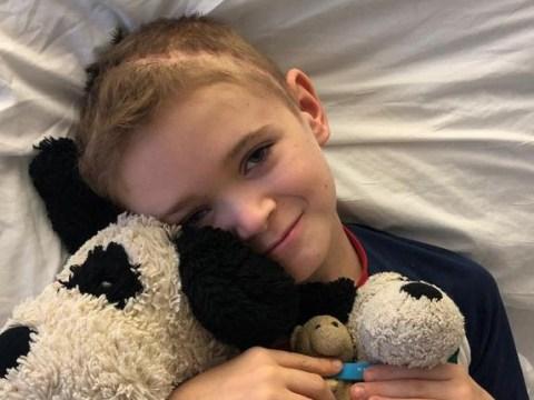Boy, 10, raises £500,000 for 'lifeline' cancer treatment in US