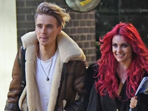 Joe Sugg and Dianne Buswell look inseparable on Strictly Come Dancing tour as they celebrate opening night win