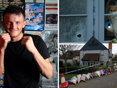 Man arrested for killing boxer, 21, in 'targeted' drive-by shooting