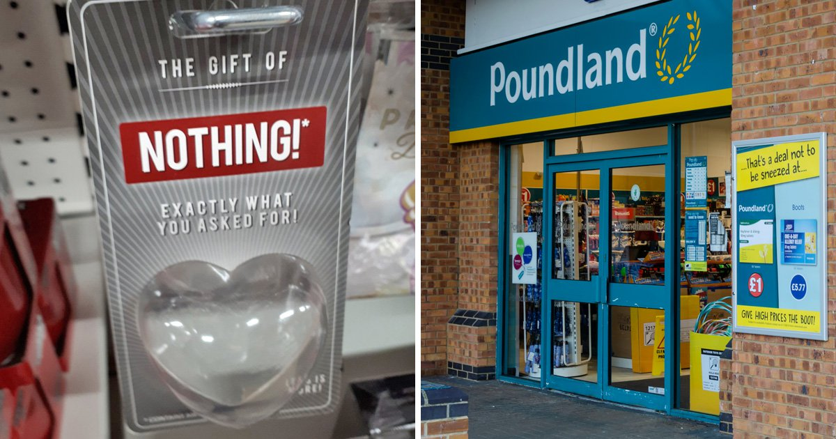 Poundland's Valentine's Day 'gift of nothing' criticised for 'pointless' plastic waste