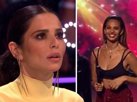 Alesha Dixon and Cheryl wore the same outfit on The Greatest Dancer three times in a row