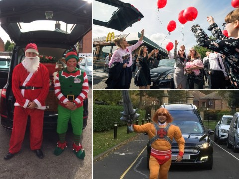 Themed funerals: McDonald's, Christmas jumpers and fancy dress are some of the new ways to say goodbye