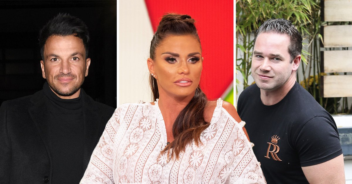 Katie Price is 'embarrassed' after ex Kieran Hayler claimed Peter Andre is the 'love of her life'