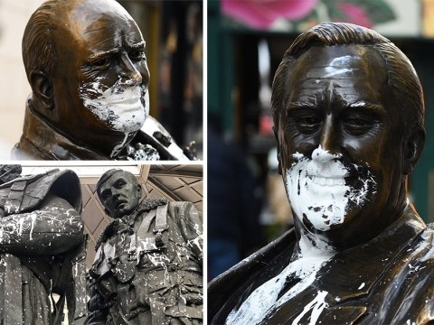 Bomber Command Memorial daubed with white paint for fourth time in six years