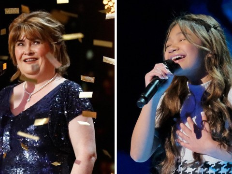 Angelica Hale, 11, admits nerves about facing Susan Boyle in America's Got Talent: The Champions final