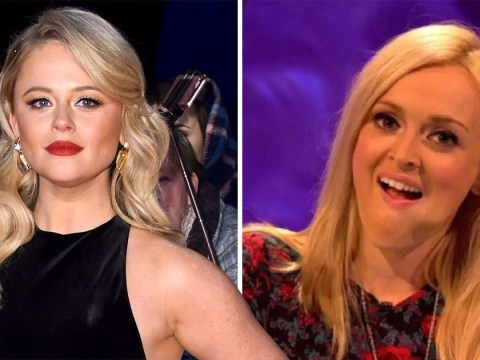 Emily Atack won't be replacing Fearne Cotton on Celebrity Juice after admitting it would have been her 'dream job'