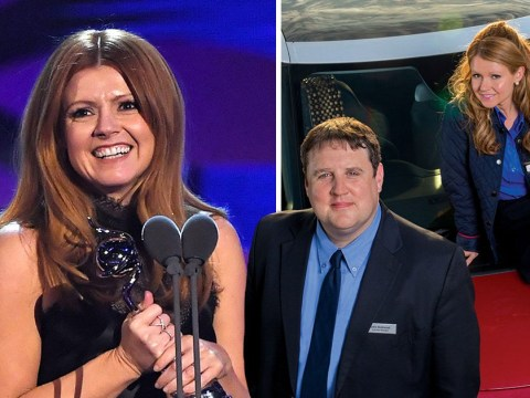 Peter Kay receives special shout-out from Sian Gibson as Car Share wins National Television Award