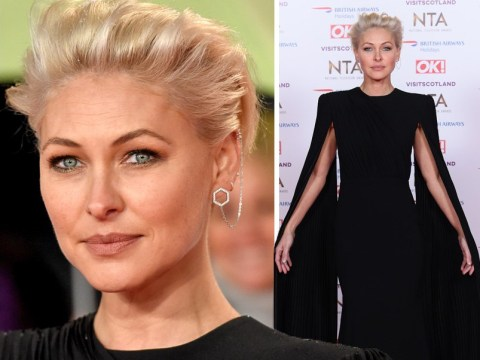 Emma Willis debuts platinum hair at the NTAs and we are living for her new look