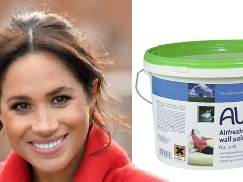 Pregnant Meghan 'will paint baby's nursery in toxic-free vegan paint'
