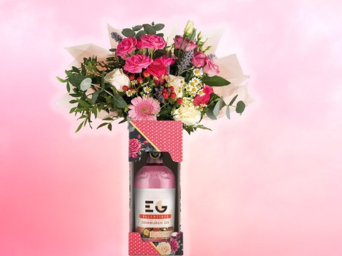 Gin bouquets are here just in time for Valentine's Day