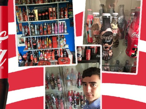 I'm Your Biggest Fan: Coca-Cola fan who spent £500 on one bottle of Coke