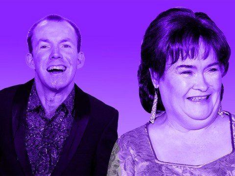 Lost Voice Guy honoured to share stage with Susan Boyle as they go to war on America's Got Talent: The Champions