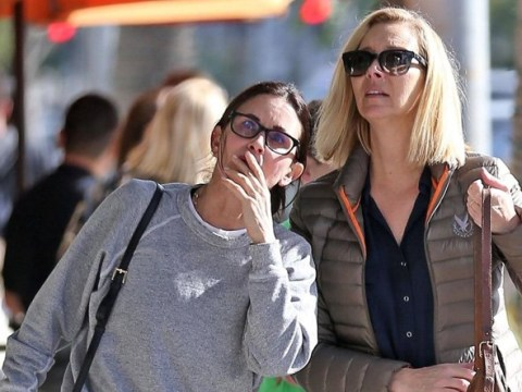 Could they be any cuter? Courteney Cox and Lisa Kudrow prove they're still real-life Friends on lunch date