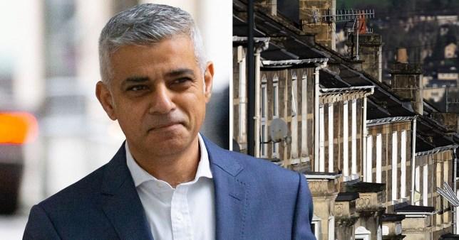 Sadiq Khan London Mayor capping rent