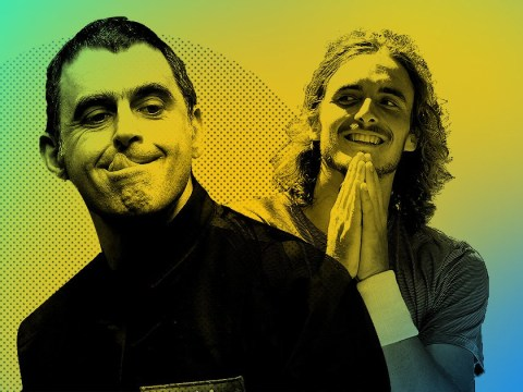 Ronnie O'Sullivan and Stefanos Tsitsipas exchange compliments in unlikely sporting bromance