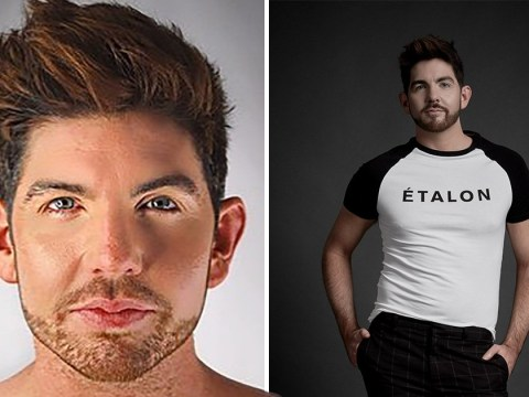 Gay model opens up about self esteem issues and struggling to do topless shoots