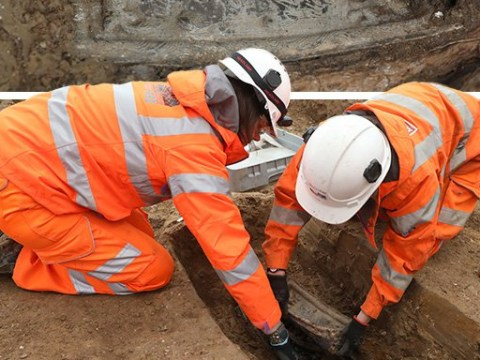 HS2 archaeologists find remains of explorer who named Australia at London grave site