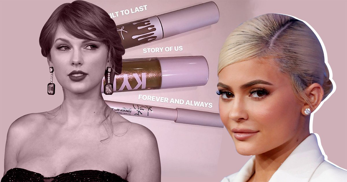Kylie Jenner names her Valentine's Day beauty products after Taylor Swift songs as she's a total fangirl