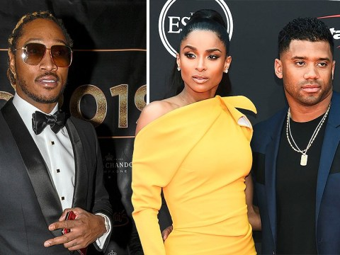 Future insists he has 'no problems' with Ciara and NFL hubby Russell Wilson despite 'act like a man' diss