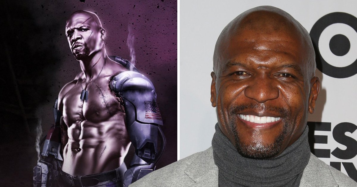 Terry Crews 'would love to' play Jax in a Mortal Kombat movie as Twitter goes wild over mock-up artwork