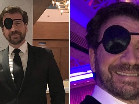 Nick Knowles left wearing eye patch after emergency operation