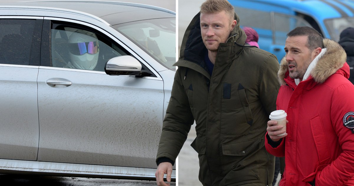 Top Gear recruits a family of Stigs as Paddy McGuinness and Freddie Flintoff film in Wales