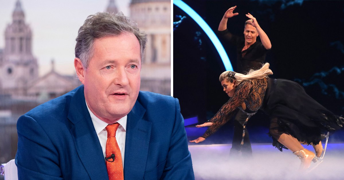 Piers Morgan defends Gemma Collins against online trolls after Dancing On Ice horror fall