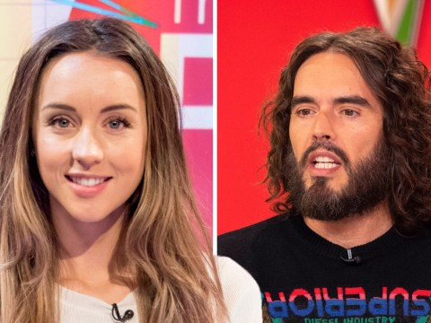 Russell Brand encouraged to 'bite the bullet' over changing nappies by Emily Andre