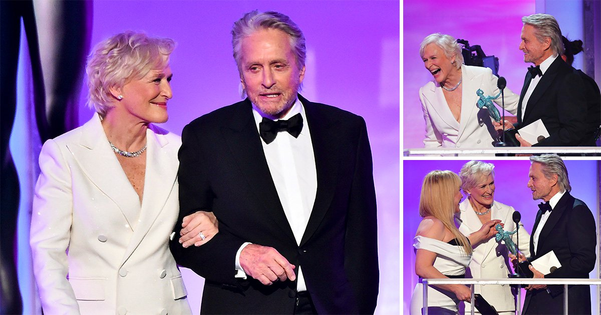 Glenn Close and Michael Douglas had a Fatal Attraction reunion at the Screen Actors Guild and fans are here for it